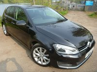 2014 VOLKSWAGEN GOLF 2.0 GT TDI BLUEMOTION TECHNOLOGY DSG 5d AUTO 148 BHP £8800.00