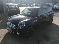2014 MINI CLUBMAN 1.6 COOPER BOND STREET 5d AUTO 122 BHP £12499.00
