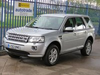 USED 2014 63 LAND ROVER FREELANDER 2.2 TD4 XS 5d Sat nav Leather Finance arranged Part exchange available Open 7 days