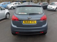 USED 2015 65 KIA VENGA 1.4 2 ISG 5d 89 BHP BALANCE OF MANUFACTURERS SEVEN YEAR WARRANTY