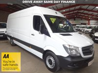 "USED 2015 15 MERCEDES-BENZ SPRINTER 2.1 313 CDI LWB 129 BHP HIGH ROOF VAN ""YOU'RE IN SAFE HANDS"" - AA DEALER PROMISE"