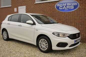 2017 FIAT TIPO 1.4 EASY 5d 94 BHP £7995.00