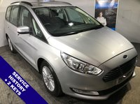 """USED 2016 16 FORD GALAXY 2.0 ZETEC TDCI 5d 148 BHP Phone Bluetooth Connectivity     :     Car Hotspot / WiFi     :     Hands Free Voice Control        17"""" Alloy Wheels   :   Front & Rear Parking Sensors   :   Service History"""
