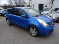 USED 2008 57 NISSAN NOTE 1.6 TEKNA 5d AUTO 109 BHP