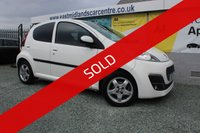 USED 2013 13 PEUGEOT 107 1.0 ENVY 5d 68 BHP PETROL WHITE  GENUINE LOW MILEAGE + FREE ROAD TAX