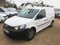USED 2013 63 VOLKSWAGEN CADDY MAXI 1.6 C20 TDI STARTLINE BLUEMOTION TECHNOLOGY 1d 101 BHP AIR/CON SAT/NAV CRUISE CONTROL FULL DEALER SERVICE HISTORY