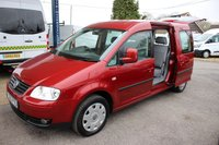 2010 VOLKSWAGEN CADDY MAXI 1.9 LIFE TDI 5d 103 BHP LWB WITH WHEELCHAIR  ACCESS £8295.00