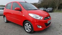 USED 2013 63 HYUNDAI I10 1.2 ACTIVE 5d 85 BHP LOW TAX BAND, 2 X KEYS, ALLOYS, AIR-CONDITIONING, CD-PLAYER, REMOTE LOCKING, ELECTRIC WINDOWS, ECONOMICAL, SUPERB EXAMPLE