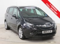 USED 2015 15 VAUXHALL ZAFIRA TOURER 1.4 SRI 5d 138 BHP 1 Owner Vauxhall Zafira Tourer 1.4 SRI with Full Vauxhall Service History having been serviced in July 2016 at 9,842 miles, July 2017 at 22,456 miles and August 2018 at 35,730 miles and comes fully equipped with Front and Rear Parking Sensors, Dab radio and CD, Cruise Control, Leather Multi Functional Steering Wheel, Carbon Black Metallic Paint, 2 Keys and Free Warranty. Nationwide Delivery Available. Finance Available at 9.9% APR Representative.