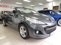 2011 PEUGEOT 207 1.6 CC SPORT 2d+ONE LADY OWNER+SERVICE HISTORY+ £2890.00