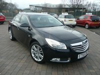 2010 VAUXHALL INSIGNIA 1.8 EXCLUSIV 5d 138 BHP £SOLD