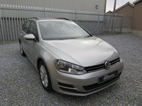 2014 VOLKSWAGEN GOLF 1.6 SE TDI BLUEMOTION TECHNOLOGY 5d 103 BHP ESTATE £8595.00