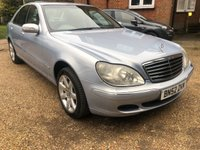 USED 2002 52 MERCEDES-BENZ S CLASS 3.2 S320 CDI 4d AUTO 204 BHP