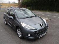 USED 2009 59 PEUGEOT 207 1.6 SPORT 5d AUTO 120 BHP ONLY 5,800 MILES FROM NEW !!