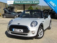 USED 2017 17 MINI CONVERTIBLE 1.5 COOPER 2d 134 BHP Very Low Mileage