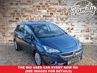 USED 2016 16 VAUXHALL CORSA 1.4 SE ECOFLEX 5d 89 BHP 1 OWNER & FULL HISTORY