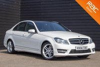 USED 2014 14 MERCEDES-BENZ C-CLASS 2.1 C220 CDI AMG SPORT EDITION PREMIUM PLUS 4d AUTO 168 BHP £0 DEPOSIT BUY NOW PAY LATER - NAV - REVERSE CAM - PAN ROOF