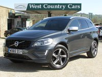 USED 2015 65 VOLVO XC60 2.0 D4 R-DESIGN LUX NAV 5d AUTO 188 BHP High Specification Crossover