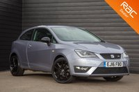 USED 2016 16 SEAT IBIZA 1.2 TSI FR TECHNOLOGY 3d 109 BHP £0 DEPOSIT BUY NOW PAY LATER - FULL S/H - NAVIGATION