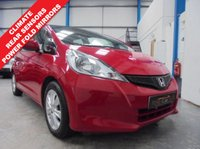 "USED 2011 61 HONDA JAZZ 1.3 I-VTEC ES 5d 98 BHP Comprehensive Service History, Rear Parking Sensors, Climate Control, Power Fold Mirrors, Heated Electric Mirrors, Electric Windows x 4, Remote Central Locking with 2 Keys, CD/Radio/USB/Aux, 15"" Alloys"