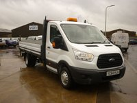 2014 FORD TRANSIT 2.2 350 ECF DROPSIDE VAN DRW 124 BHP £13995.00