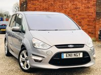 USED 2011 11 FORD S-MAX 2.2 TITANIUM X SPORT TDCI 200 BHP REAR ENTERTAINMENT PACKAGE
