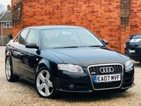 USED 2007 07 AUDI A4 1.8 T S LINE 160 BHP 1 OWNER FROM NEW