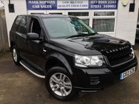 2013 LAND ROVER FREELANDER 2.2 TD4 BLACK AND WHITE 5d 150 BHP £13995.00