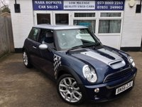 2006 MINI HATCH COOPER 1.6 COOPER S CHECKMATE 3d 168 BHP £9995.00