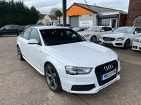 2013 AUDI A4 2.0 TDI BLACK EDITION 4d 174 BHP £13990.00
