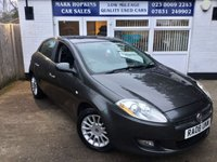 USED 2008 08 FIAT BRAVO 1.6 MULTIJET DYNAMIC ECO 5d 105 BHP 87K LOCAL LADY OWNER 16'ALLOYS 6SPD AIR/CON CRUISE PHONE £30/YR TAX