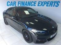 2014 BMW 2 SERIES 2.0 220I M SPORT 2d 181 BHP £14500.00
