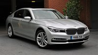 2018 BMW 7 SERIES BMW 740E EXCLUSIVE Auto Electric Hybrid £37810.00