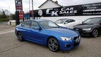 2016 BMW 3 SERIES 3.0 335D XDRIVE M SPORT 4d AUTO 308 BHP £21000.00