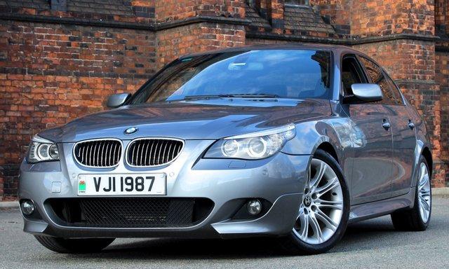 2007 BMW 5 SERIES 3.0 525D M SPORT 4d AUTO 195 BHP