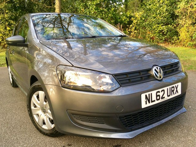 2012 62 VOLKSWAGEN POLO 1.2 S 5d 60 BHP 'ONLY 31,100 MILES WITH 1 OWNER''