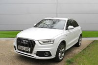 USED 2014 63 AUDI Q3 2.0 TFSI QUATTRO S LINE 5d AUTO 168 BHP 1 OWNER AUTOMATIC LOW MILEAGE, MANY EXTRAS.FINANCE ME TODAY-UK DELIVERY POSSIBLE