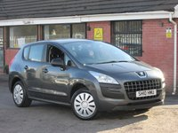 2010 PEUGEOT 3008 1.6 HDI ACTIVE AUTOMATIC 5dr £4490.00