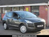 2010 PEUGEOT 3008 1.6 HDI ACTIVE AUTOMATIC 5dr £3990.00