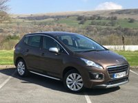 USED 2014 63 PEUGEOT 3008 1.6 HDI ACTIVE 5d 115 BHP SERVICE HISTORY