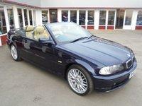2002 BMW 3 SERIES 2.2 320CI 2d 168 BHP £3495.00