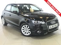 USED 2015 64 AUDI A1 1.6 SPORTBACK TDI SPORT 5d 103 BHP 1 Owner/Part Leather/Bluetooth