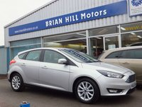USED 2015 65 FORD FOCUS 1.0 Eco-Boost TITANIUM 5dr (124bhp) .........ONE OWNER. FULL FORD SERVICE HISTORY (£20 road tax & 60mpg). CLIMATE CONTROL. CRUISE CONTROL TITANIUM REFINEMENTS.