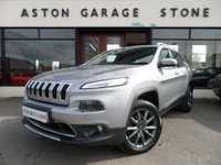 2015 JEEP CHEROKEE 2.0 M-JET LIMITED AUTO 168 BHP **F/S/H * NAV * LEATHER** £13990.00