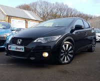 USED 2015 65 HONDA CIVIC 1.8 I-VTEC SR 5d 140 BHP