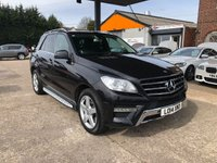 2014 MERCEDES-BENZ M CLASS 2.1 ML250 BLUETEC AMG SPORT 5d AUTO 204 BHP £21450.00