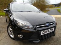 USED 2014 64 FORD FOCUS 1.6 ZETEC NAVIGATOR ECONETIC TDCI START/STOP 5d 104 BHP ** DIESEL, 6 SPEED GEARBOX, ONE PREVIOUS OWNER , £ ZERO ROAD TAX **