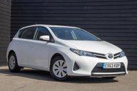 2013 TOYOTA AURIS 1.3 ACTIVE DUAL VVT-I 5d 98 BHP £6500.00