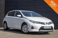 USED 2013 63 TOYOTA AURIS 1.3 ACTIVE DUAL VVT-I 5d 98 BHP £0 DEPOSIT BUY NOW PAY LATER - TOYOTA SERVICE HISTORY