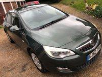 2010 VAUXHALL ASTRA 1.6 EXCLUSIV 5d AUTO 113 BHP £3895.00